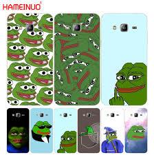 Phone Case Meme - hameinuo internet meme smug frog pepe cover phone case for samsung