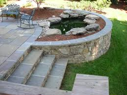 Retaining Wall Patio Design Patio Stairs Home Design Inspiration Ideas And Pictures