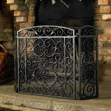 duqaa com black cast iron fireplace screen panel info duqaa com