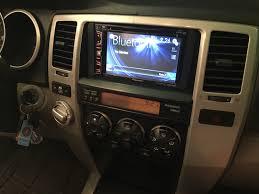2003 2009 toyota 4runner touch screen radio install pioneer