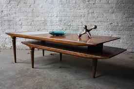 Boomerang Coffee Table Swivel Pivot Boomerang Mcm Walnut Coffee Table Flickr