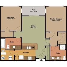 square floor plans 2 bedrooms floor plans jackson square