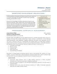 Resume For Teachers Job by Workforce Development Resume