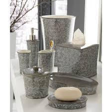 Beach Bathroom Accessories by Stella 4pc Plastic Elegant Bathroom Accessory Set Soap Dish