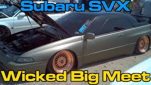 svx subaru for sale subaru svx wrap bags wheels tune wbm 2015 10 days of