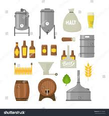 cartoon beer no background cartoon beer brewing color icons set stock vector 631109906