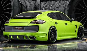 so you want a lime green porsche panamera with a performance upgrade u2026