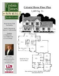 Floor Plans For Real Estate by Home Floor Plans Syracuse Ny Custom Homes By Ron Merle