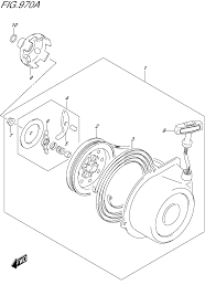 2015 suzuki king quad 500axi optional recoil starter parts