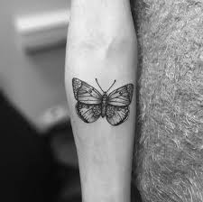 28 beautiful black and grey butterfly tattoos tom toms