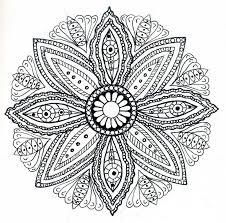 65 neat images mandalas coloring books