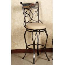 furniture bar stool round covers black stools backless counter