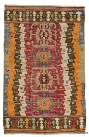 k0025137 red antique afyon kilim rug kilim rugs overdyed