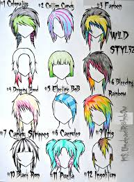 drawn emo emo style pencil and in color drawn emo emo style