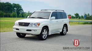 used suv lexus lx470 davis autosports 2002 lexus lx470 like new for sale youtube