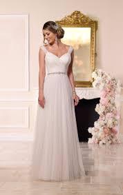 vestidos de novia rustic wedding dress elegant pleat v neck