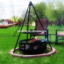 Firepit Grille by Hanging Tripod Grill Fire Pit With 22