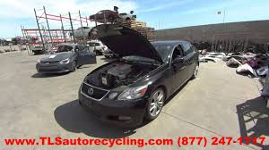 lexus gs 450h used parting out 2007 lexus gs 450h stock 6165yl tls auto recycling