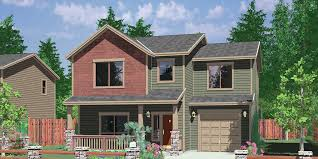 three bedroom houses narrow lot house plans small lot house plans 10094