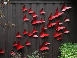 Backyard Fence Decorating Ideas Backyard Fence Decorating Ideas Homitco Decorations For Fences