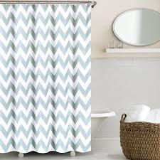 aqua chevron shower curtain goodgram chevron cotton fabric shower