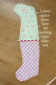 simple mini stocking tutorial u create