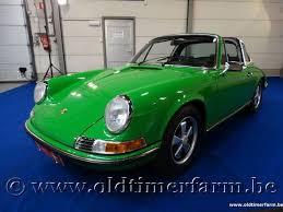 1972 porsche 911 targa for sale collectorscarworld com 1972 porsche 911 2 4 t targa viper green