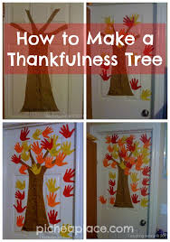 Thankful Tree Craft For Kids - how to make a thankfulness tree thanksgiving activities and