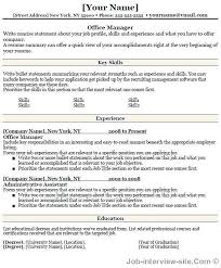 resume format administration manager job profiles free 40 top professional resume templates