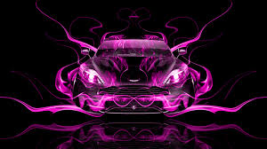 purple aston martin aston martin vanquish frontup super fire car 2014 el tony