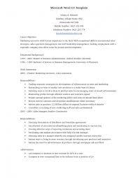 Reverse Chronological Resume Template Word Sample Chronological Resume Format Microsoft Template Saneme