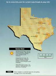 Austin Tx Maps by Nuclear War Fallout Shelter Survival Info For Texas With Fema