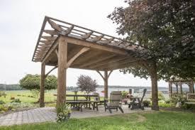 12 X 16 Pergola by Pergolas And Pavilions The Barn Raiser Quality Amish Built