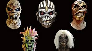 iron maiden licensed eddie masks available for order