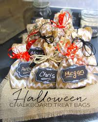 personalized trick or treat bags 365 designs make personalized chalkboard treat bags