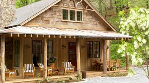 Cabin House Plans Southern Living by A Mountain Getaway Cottage In Asheville North Carolina Southern