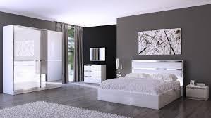 chambre adulte complete chambre adulte complète design italien chrono blanc laqué belfurn