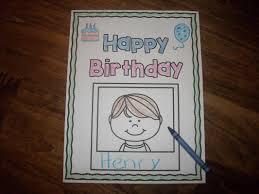 happy birthday book classroom birthday books preparing learners