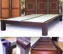 Walnut Bed Frames Platform Beds Low Platform Beds Japanese Solid Wood Bed Frame