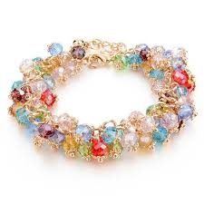 multi color stone bracelet images Confetti stone bracelet pandoras box inc jpg