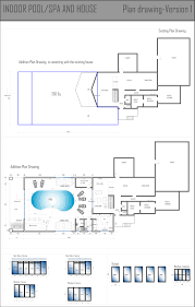 interior pool house plans house interior