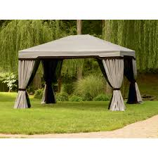 Patio Gazebo 10 X 10 by Garden Oasis 10 Ft X 12 Ft Privacy Gazebo