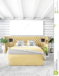 minimal bedroom interior design wood wall yellow sofa and