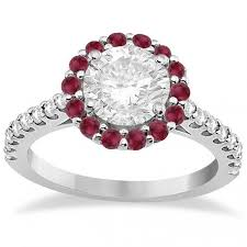 rings with ruby images Photos of engagement rings with ruby accents lovetoknow jpg
