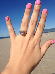 what is an engagement ring in praise of morganite engagement rings huffpost