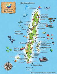 islands map andaman islands map experience andamans
