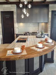 Kitchen Cabinets In Denver Custom Teak Wood Countertop In Denver Colorado By Grothouse