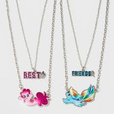 girls necklace images Girls 39 my little pony bff necklaces target