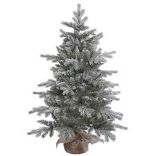 vickerman unlit 4 frosted pine artificial tree