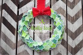 happy holidays printable holly leaf wreath tatertots and jello